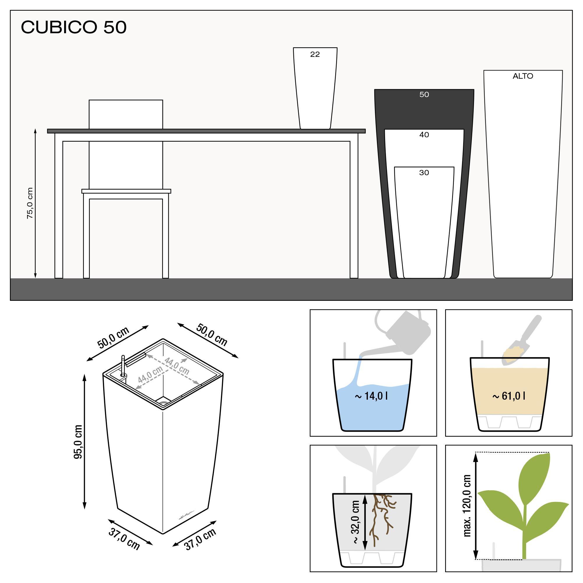 CUBICO 50 white high-gloss - Image 3