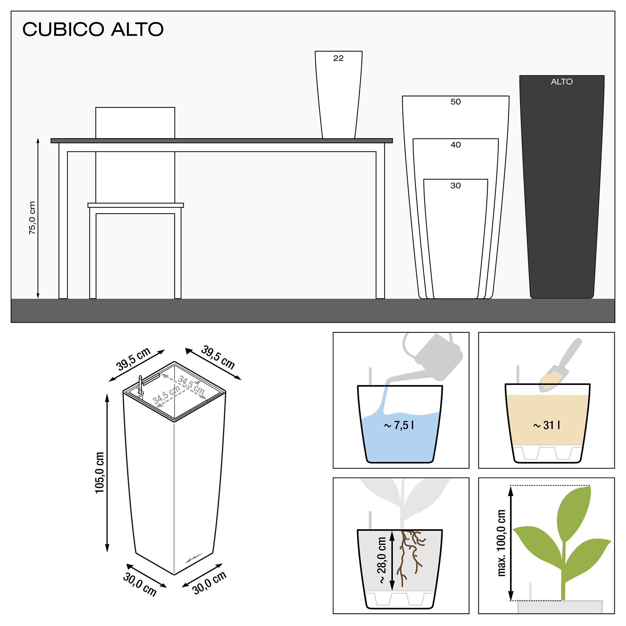 CUBICO ALTO black high-gloss - Image 3