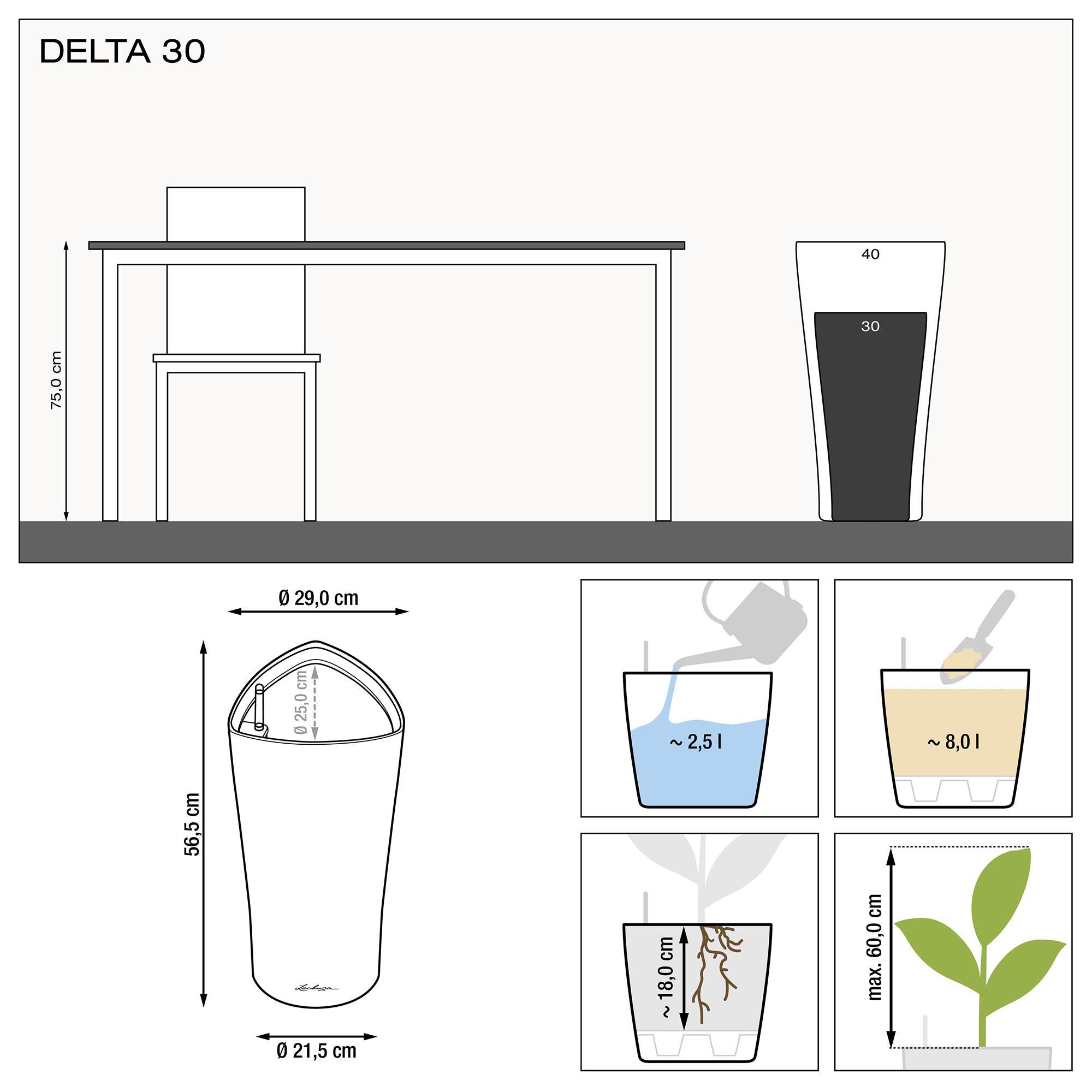 DELTA 30 black high-gloss - Image 3