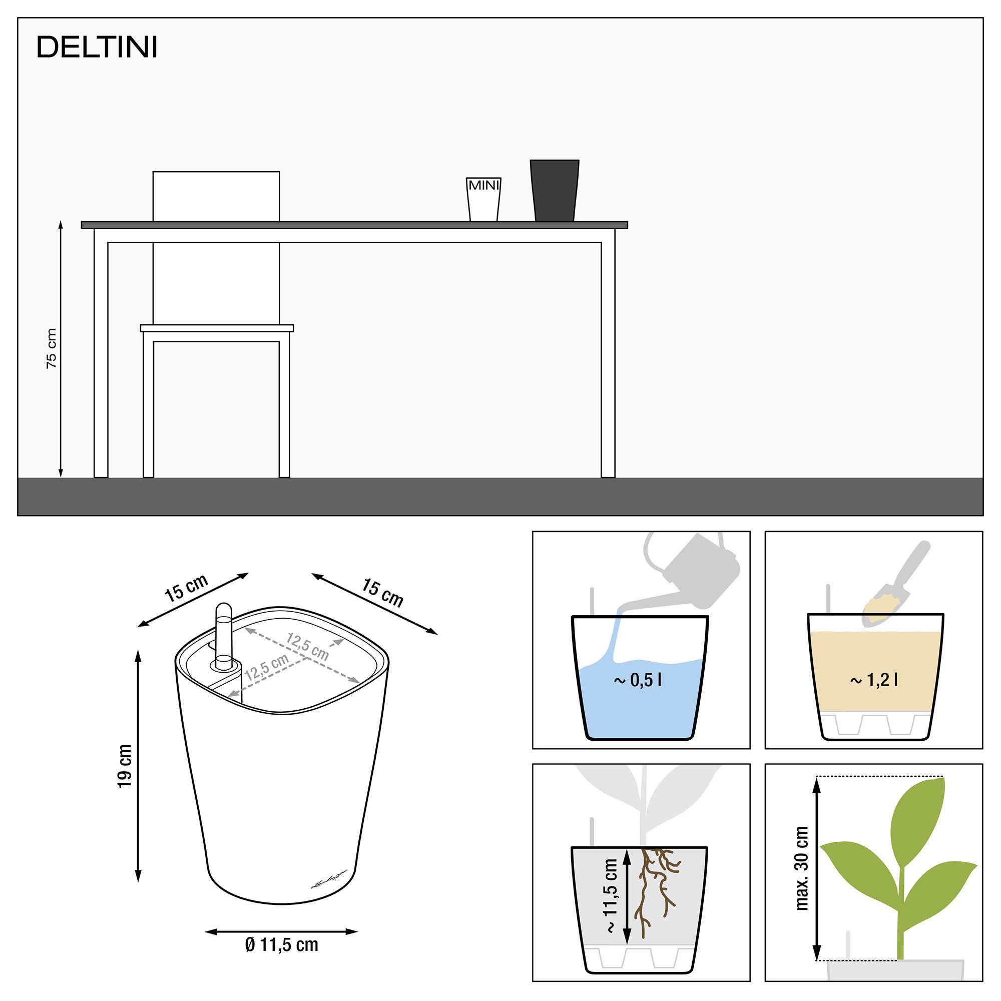 DELTINI espresso metallic - Image 3