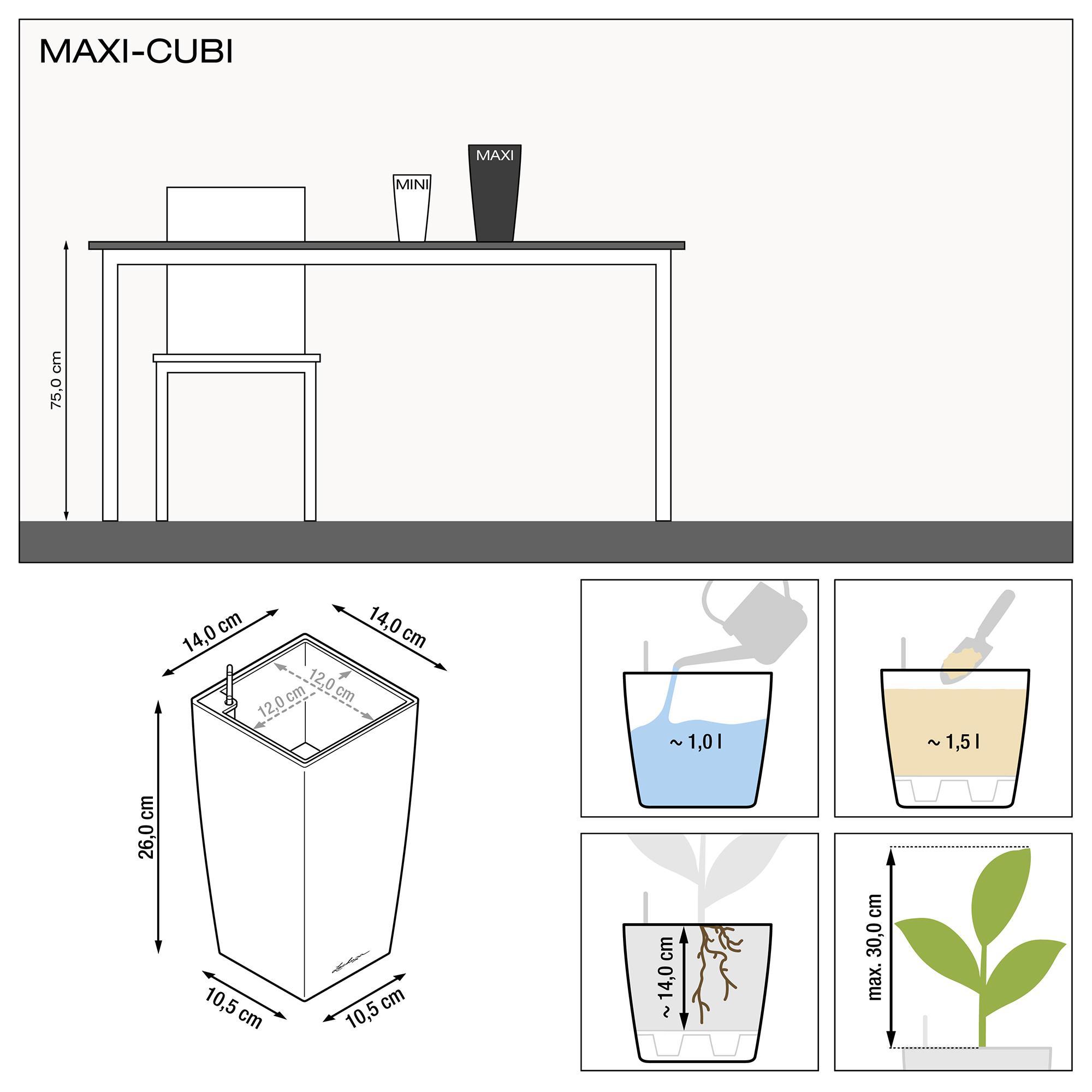 MAXI-CUBI серо-коричневый блестящий - изображение 3