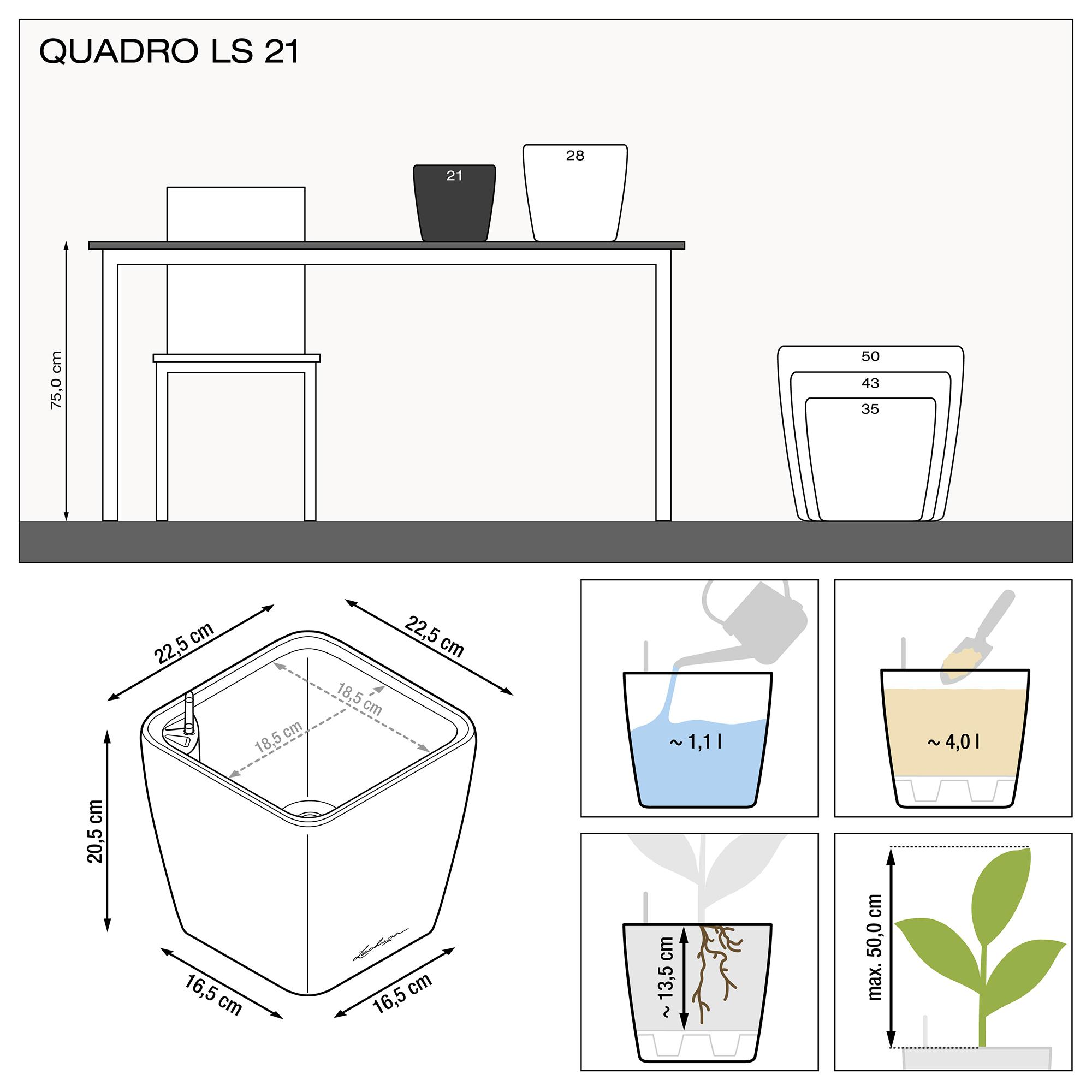 QUADRO LS 21 Кофе металлик - изображение 3