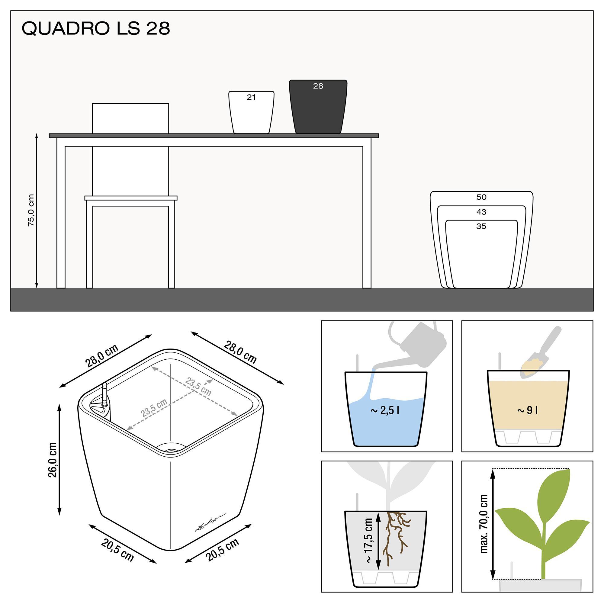 QUADRO LS 28 Кофе металлик - изображение 3