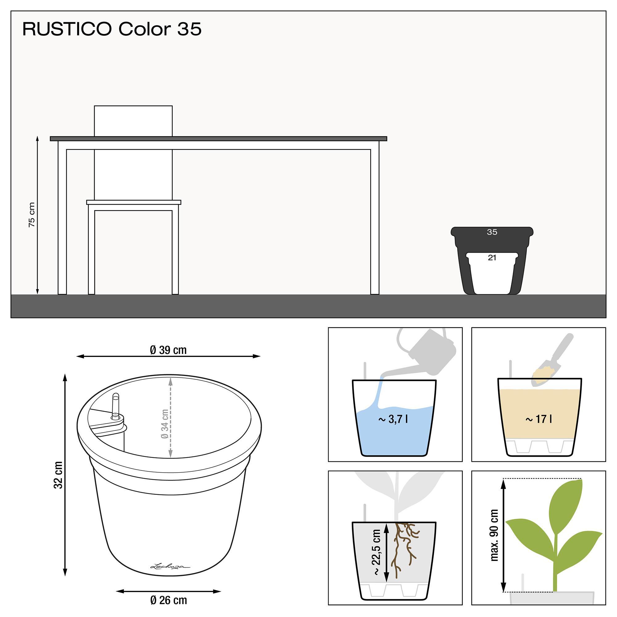 RUSTICO Color 35 Белый - изображение 2