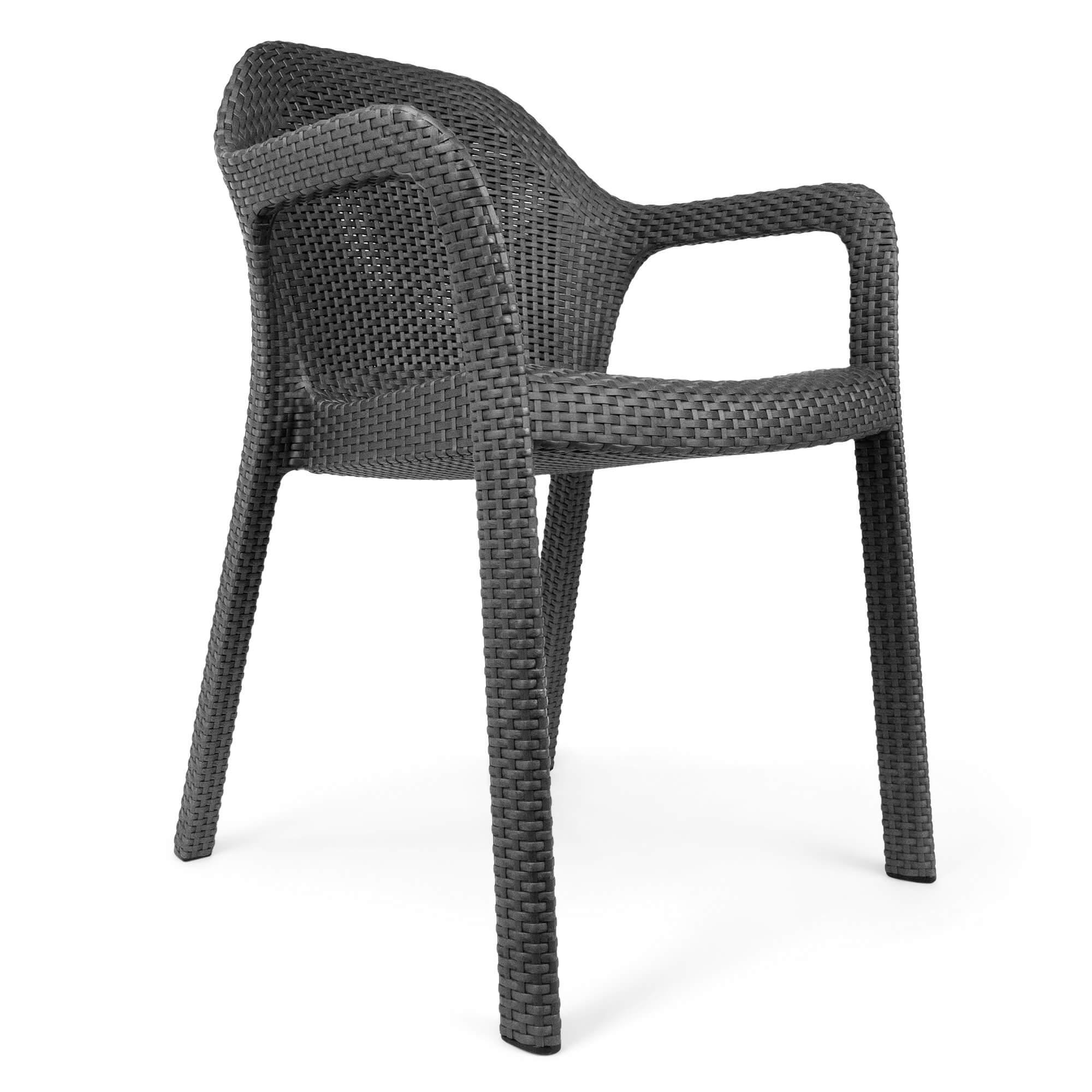 Chaise empilable moka - Image 4