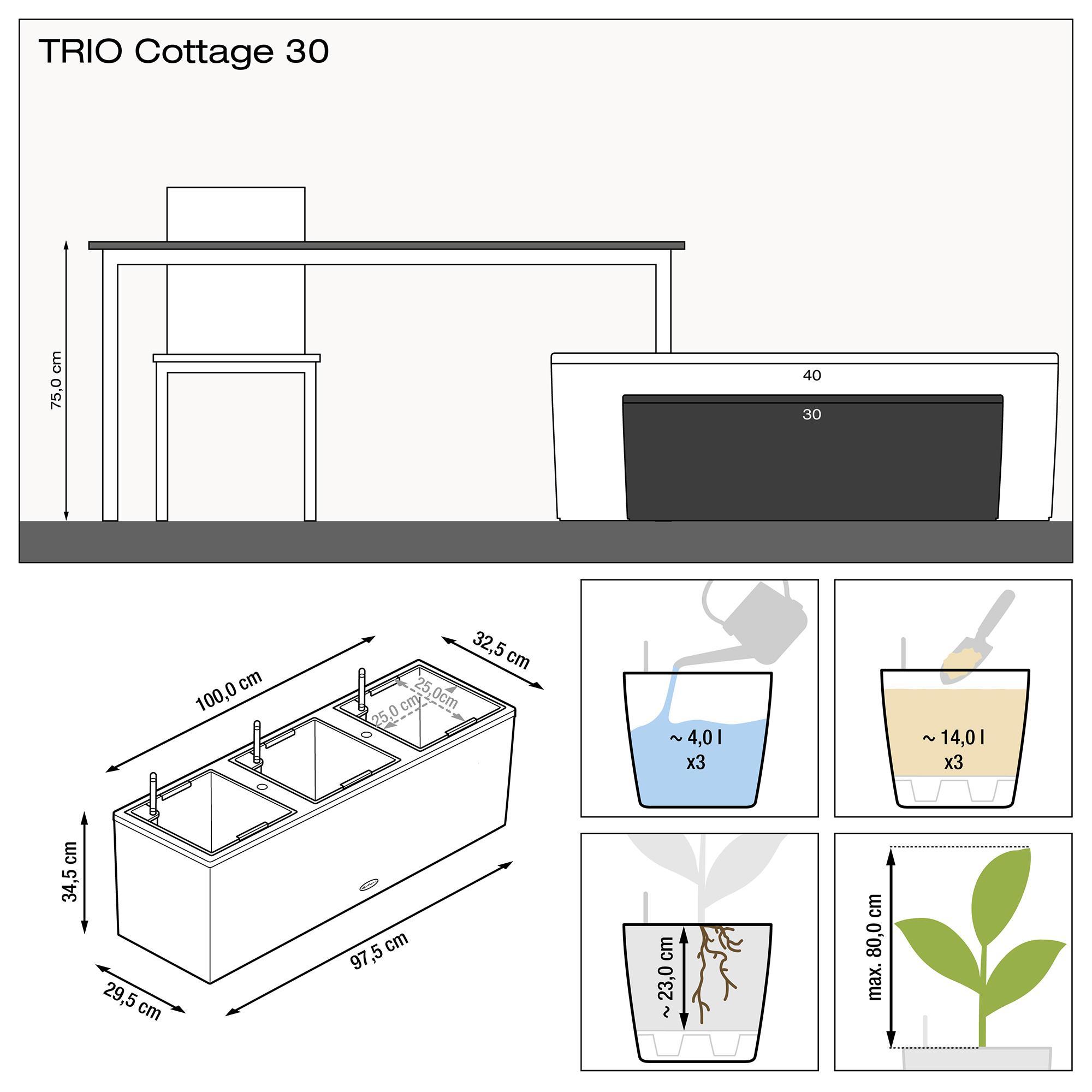 TRIO Cottage 30 Гранит - изображение 3