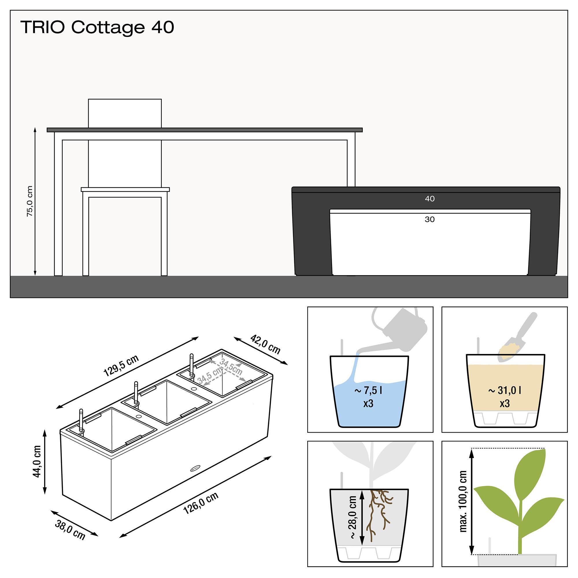 TRIO Cottage 40 granito - Imagen 3
