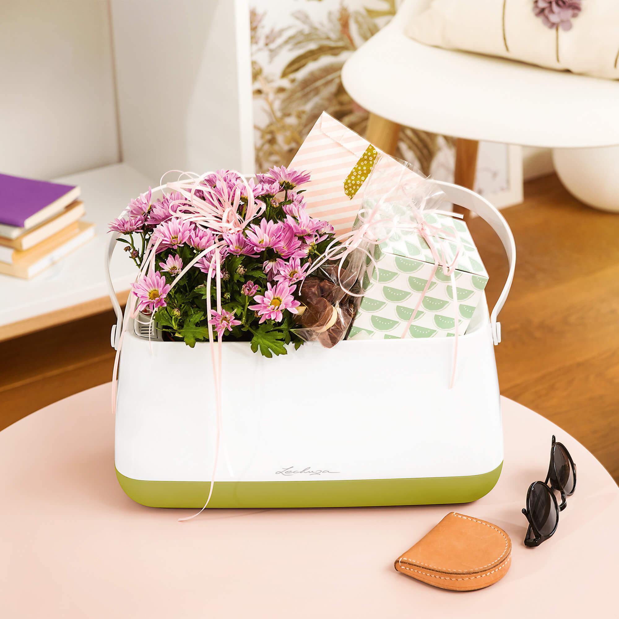 Корзинка для растений YULA белый/серый - изображение 6