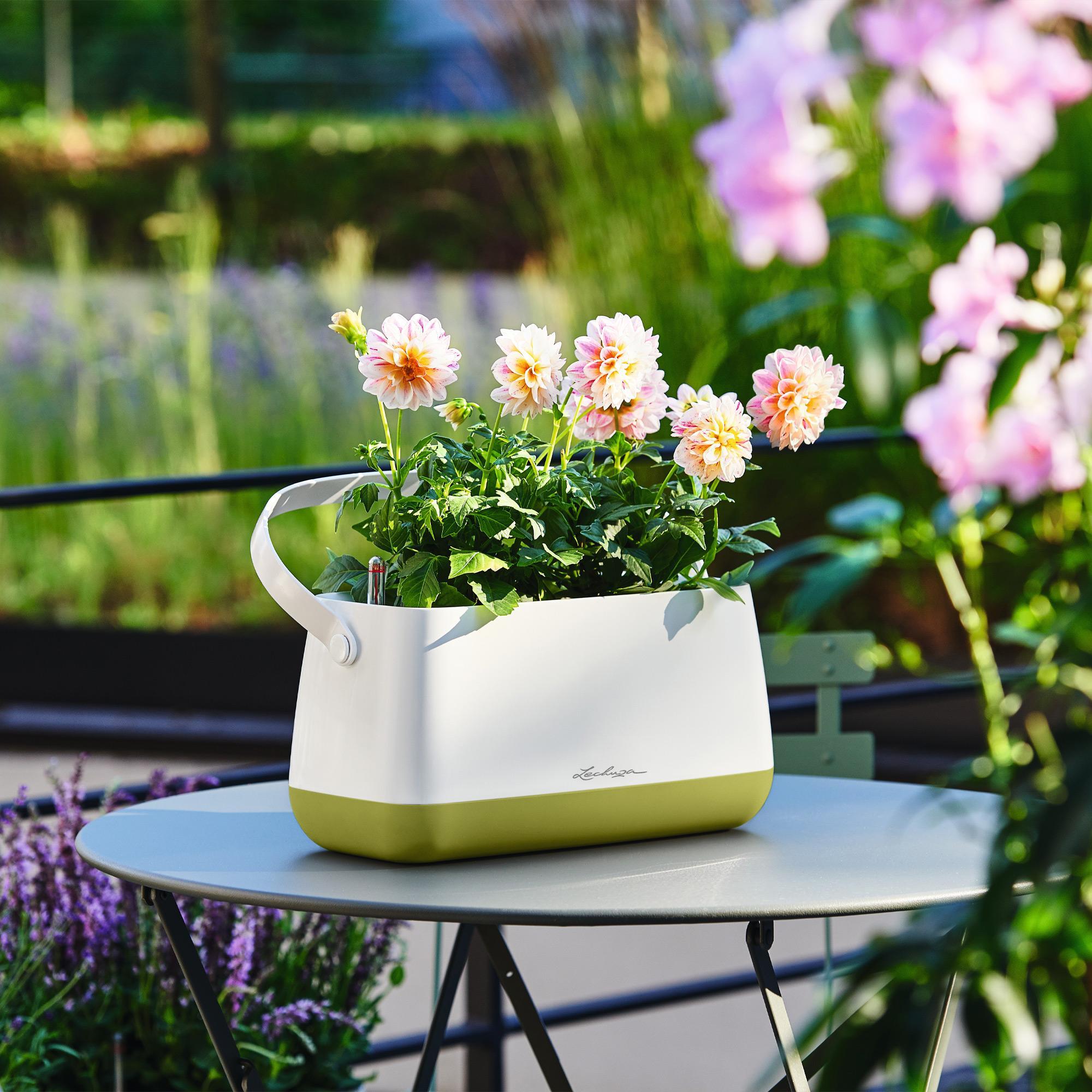 Корзинка для растений YULA белый/серый - изображение 8