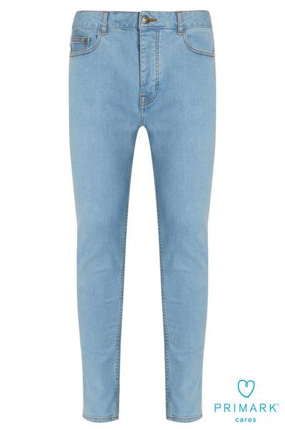 d7774b27 Light Blue Skinny Sustainable Cotton Jeans