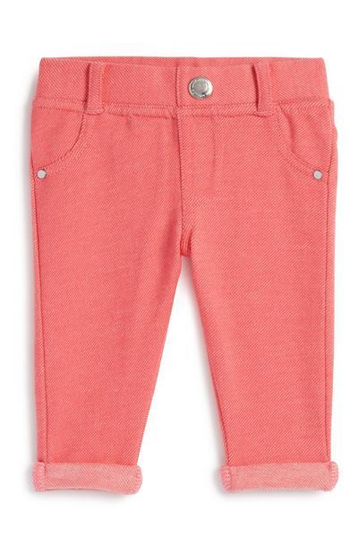 Pinke Hose für Babys (M)