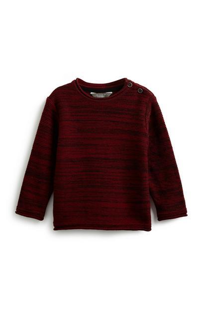 Sweatshirt mit Knöpfen für Babys (J)