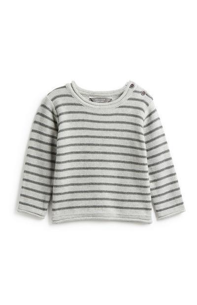 Gestreifter Pullover für Babys (J)