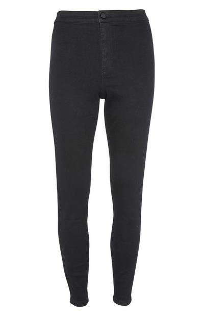 Schwarze Skinny-Fit-Jeans