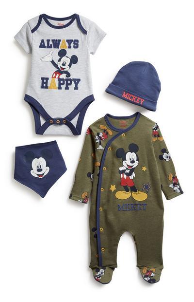 """4-teiliges """"Micky"""" Set für Neugeborene"""