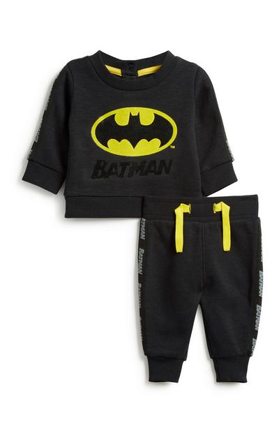 Baby Boy Batman 2Pc Outfit