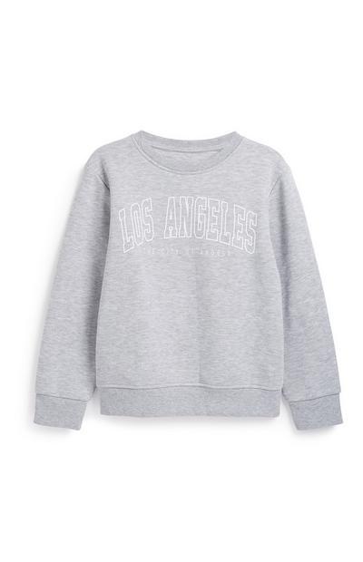 Graues Sweatshirt (Teeny Boys)