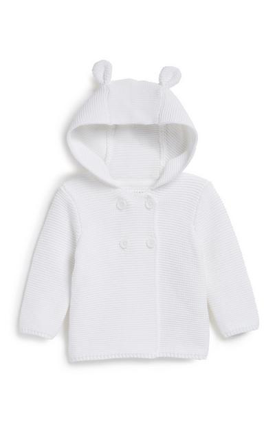 Cardigan mit Kapuze für Neugeborene