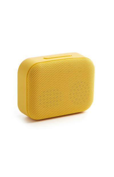 Gelber Bluetooth-Lautsprecher
