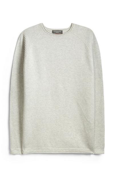 Elfenbeinfarbener Pullover