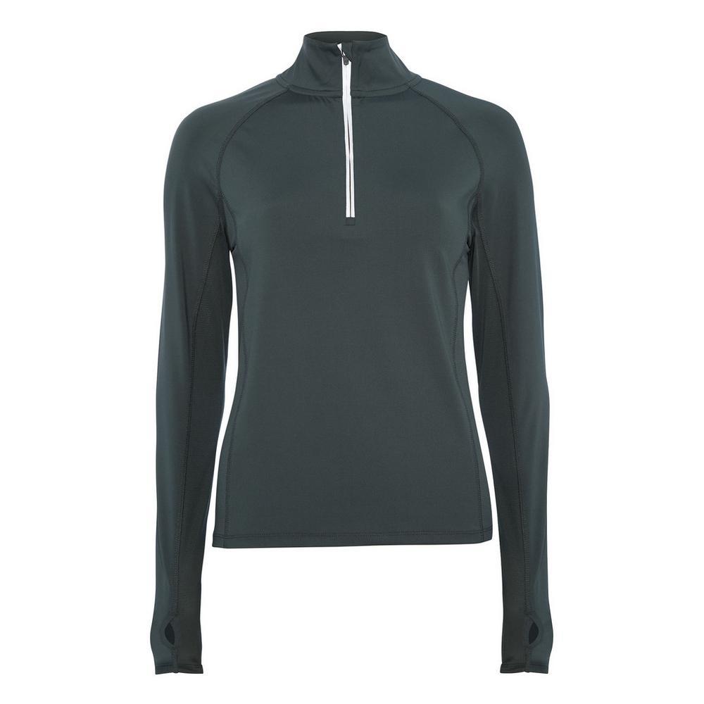 buy popular 8c428 314ea Kakifarbene Jacke mit Reißverschluss   Sportbekleidung für ...