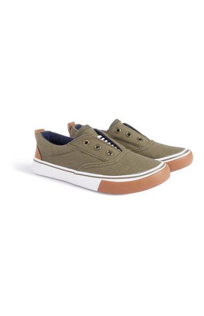 Khakifarbene Schuhe (kleine Jungen)