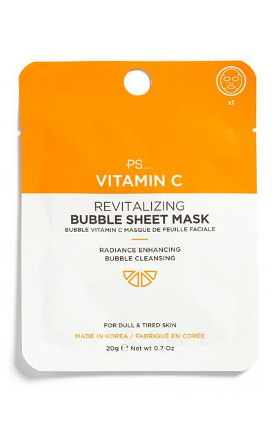 Gesichtsmaske mit Vitamin C