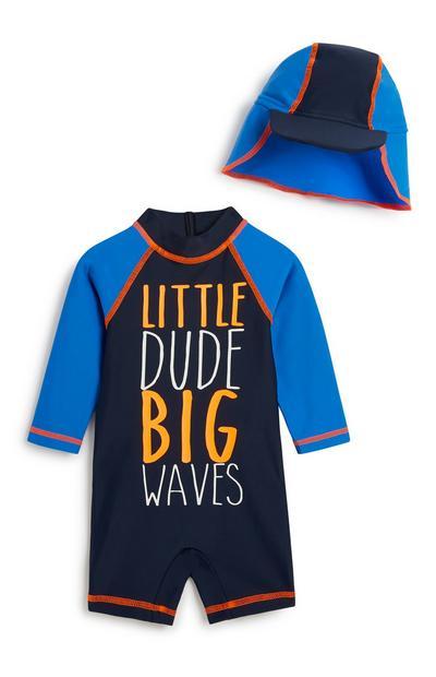 Baby Boy Swim 2Pc Outfit