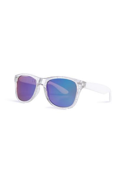 Sonnenbrille mit Glitzer