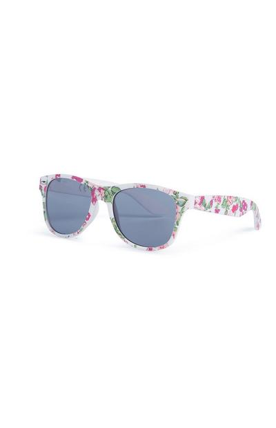 Sonnenbrille mit Blumenmuster