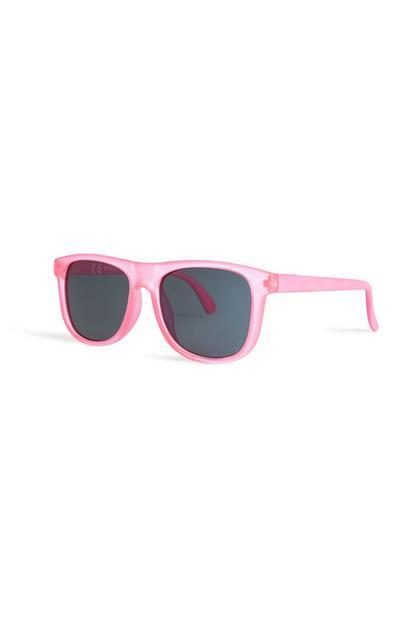 Pinke Sonnenbrille für Babys (M)