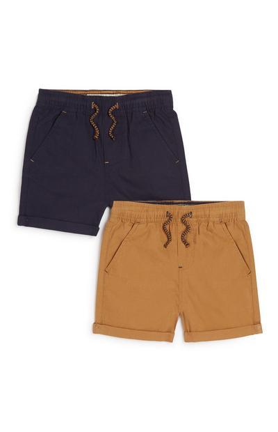 Shorts (kleine Jungen), 2er-Pack