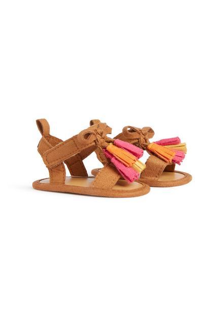 Sandalen mit Quasten für Babys (M)