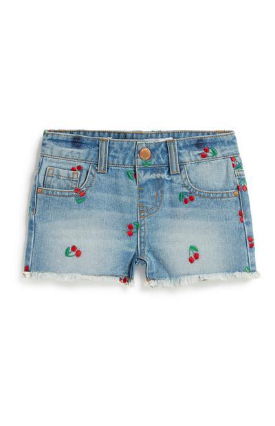 Shorts mit Kirschen (kleine Mädchen)