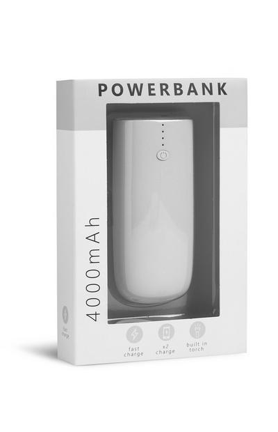 Graue Powerbank