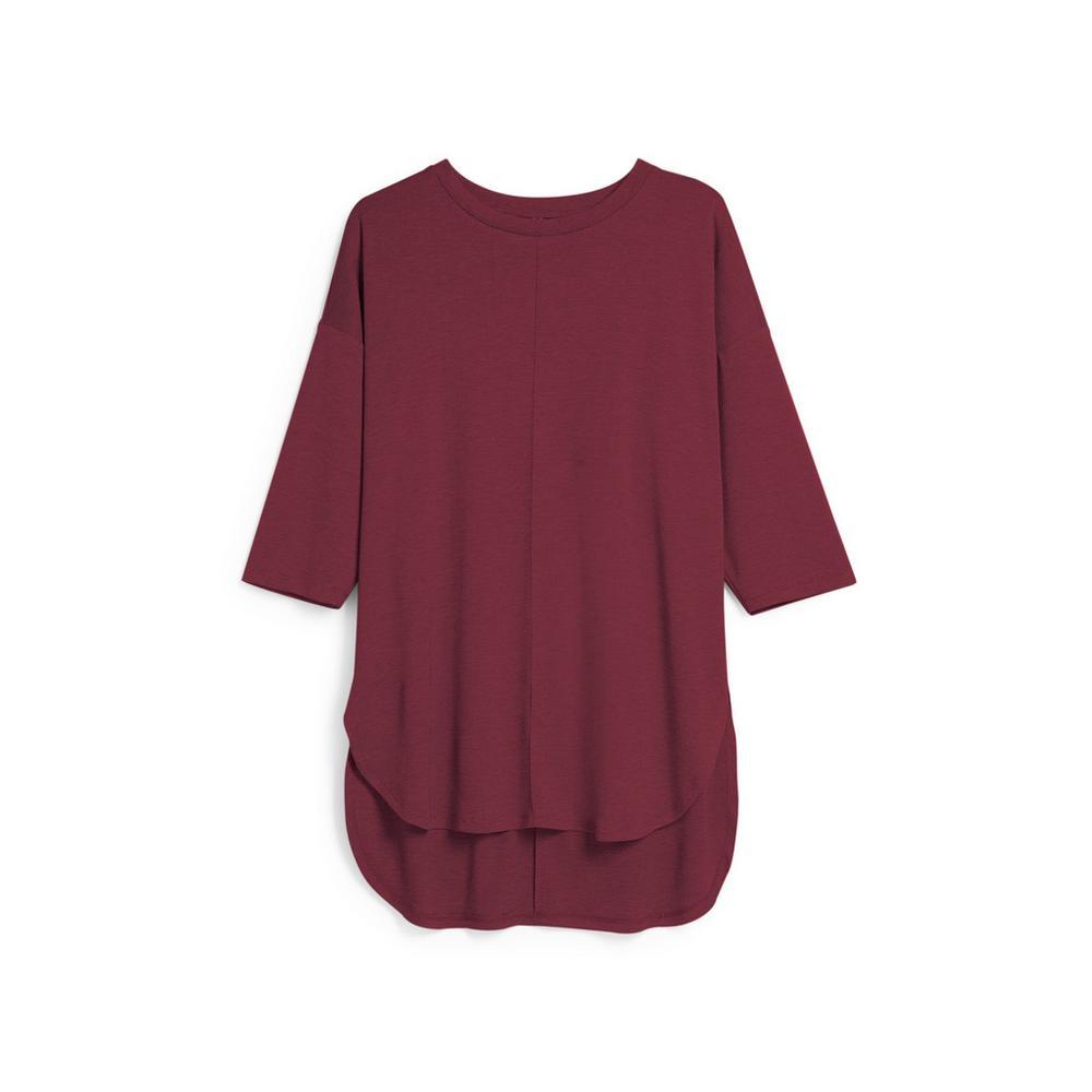 burgundy-top by primark