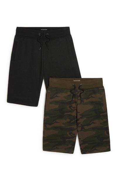 Shorts (Teeny Boys), 2er-Pack