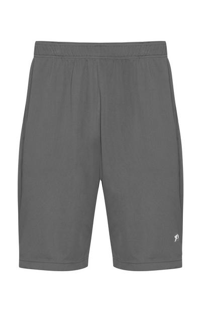 Graue Trainingsshorts