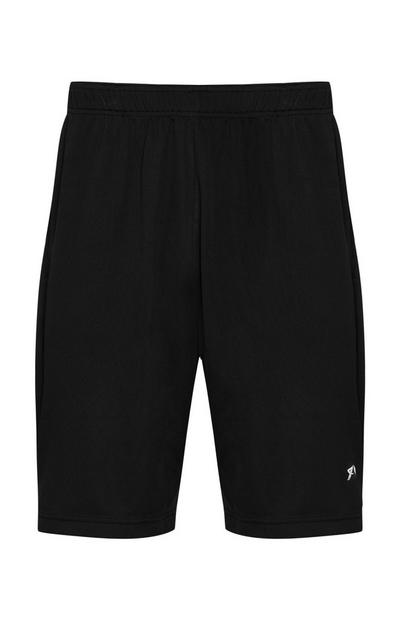 Schwarze Trainingsshorts