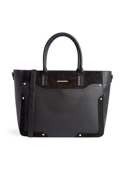 Große schwarze Tasche