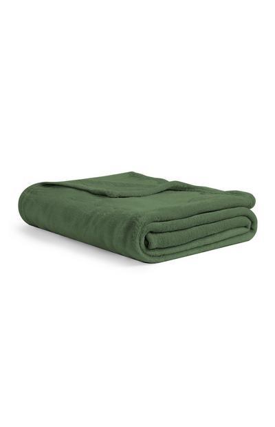 Kleine Decke in Grün