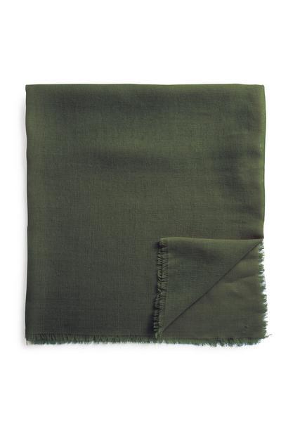Khakifarbener Schal