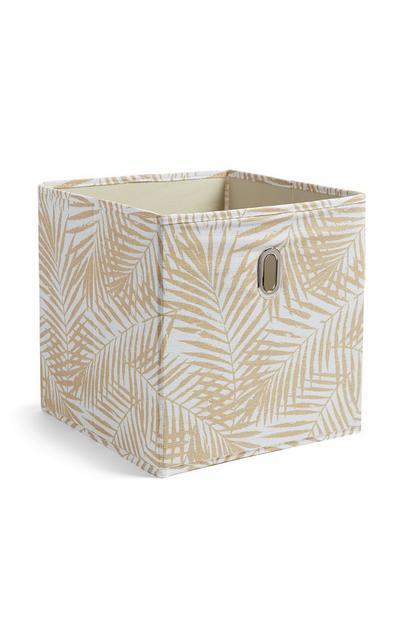Leaf Cube Storage Box
