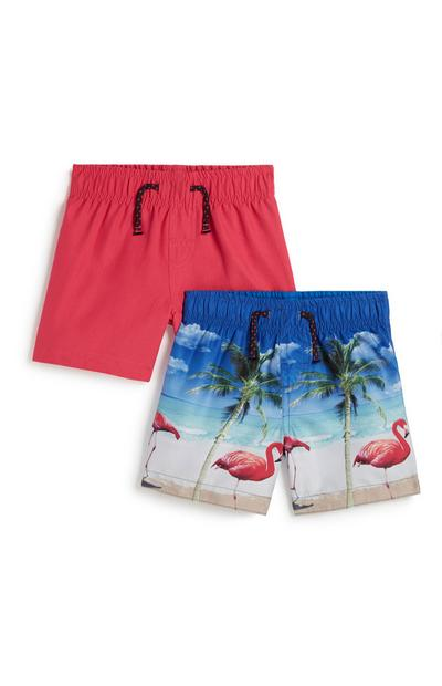Baby Boy Swim Short 2Pk