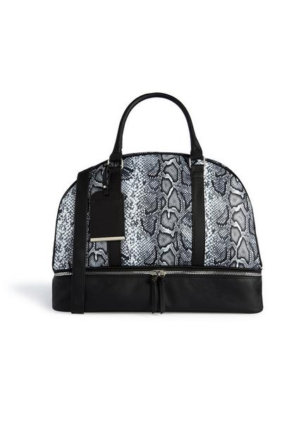 Reisetasche mit Leopardenprint