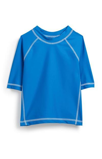 Blaues Sonnenschutz-Top (kleine Jungen)