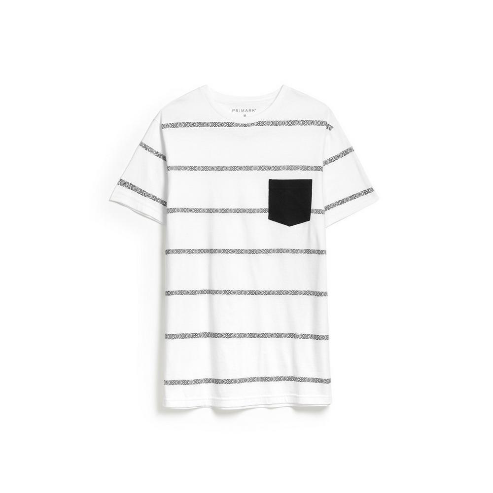 pretty nice 3ffba 5007b Weißer Pullover mit Streifenmuster | T-Shirts | Tops und T ...