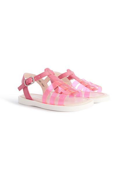 Pinke Sandalen (kleine Mädchen)