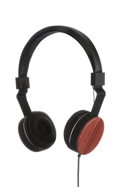Kopfhörer aus Holz