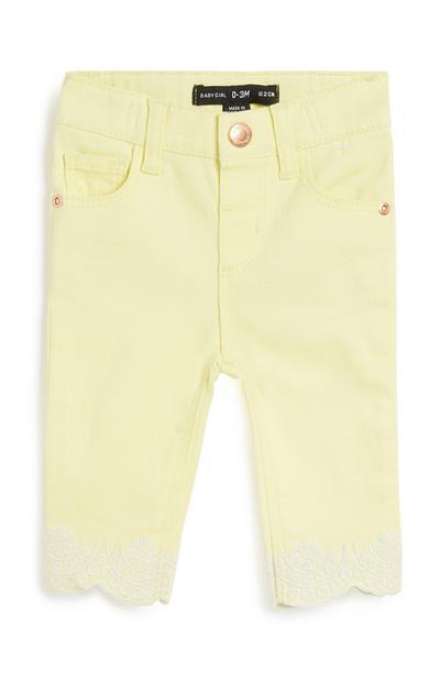 Gelbe Hose für Babys (M)